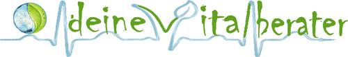 Schriftzug - deine Vitalberater - weiß - klein